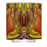 The Bouquet Unleashed 73 Shower Curtain