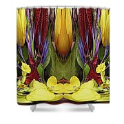 The Bouquet Unleashed 83 Shower Curtain