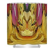 The Bouquet Unleashed 84 Shower Curtain