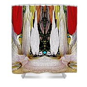 The Bouquet Unleashed 92 Shower Curtain