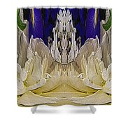The Bouquet Unleashed 93 Shower Curtain