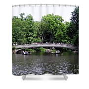 The Bow Bridge Shower Curtain