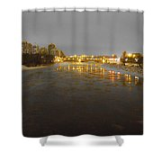 The Bow River Shower Curtain