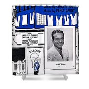 The Bowery Shower Curtain