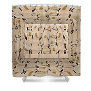 The Box Room Shower Curtain
