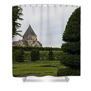 The Boxwood Garden - Villandry Shower Curtain