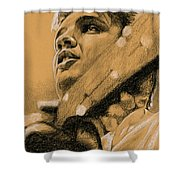The Boy From Tupelo Shower Curtain