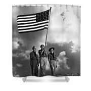 The Boy Scouts Shower Curtain
