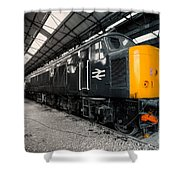 The Br Class 45  Shower Curtain