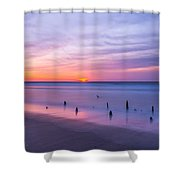 The Breach Shower Curtain