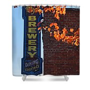 The Brewery Shower Curtain