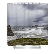 The Brewing Storm Shower Curtain