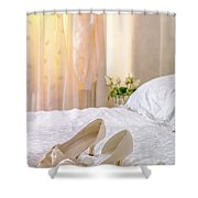 The Brides Sandals Shower Curtain
