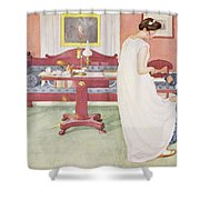 The Bridesmaid, Pub. In Lasst Licht Shower Curtain