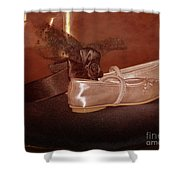 The Bridesmaid's Shoes Shower Curtain by Terri Waters