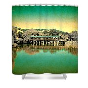 The Bridge 14 Shower Curtain
