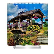 The Bridge 2 Shower Curtain