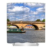 The Bridge At Henley-on-thames Shower Curtain