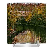 The Bridge Between Heaven And Earth Shower Curtain