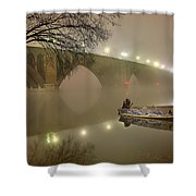 The Bridge To Nowhere Shower Curtain
