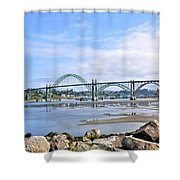 The Bridge To Old Town Shower Curtain