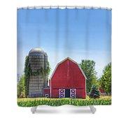 The Bright Farm Shower Curtain