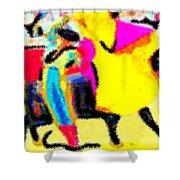 The Brilliance In Bullfighting Shower Curtain