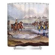 The British Royal Horse Artillery - Shower Curtain
