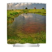 The Brittany Countryside Shower Curtain