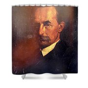 The Brother Of The Painter Shower Curtain
