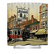 The Brunswick 1916 Shower Curtain