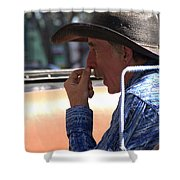 The Buggy Driver Shower Curtain