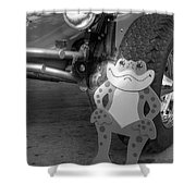 The Buggy Frog Shower Curtain