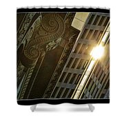 The Building Twightlight Shower Curtain