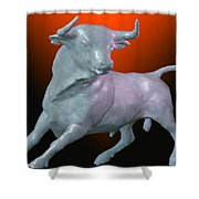 The Bull... Shower Curtain