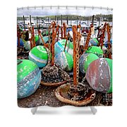 The Buoys Of Summer Shower Curtain
