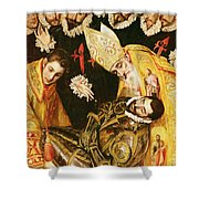 The Burial Of Count Orgaz Shower Curtain