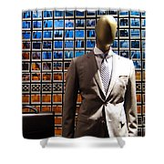 The Businessman Shower Curtain