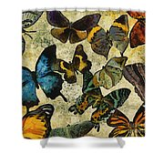 The Butterfly Collection #1 Shower Curtain