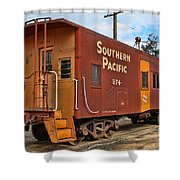 The Caboose Shower Curtain
