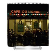 The Cafe Shower Curtain