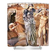 The Call Of Perseus, C.1876 Shower Curtain