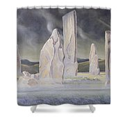 The Callanish Legend Isle Of Lewis Shower Curtain