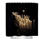 The Candles. Duomo. Milan Shower Curtain