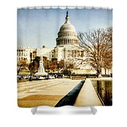 The Capitol Building Shower Curtain