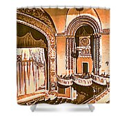The Capitol Theater In Port Chester Ny Shower Curtain