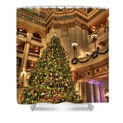 The Capitol Tree Shower Curtain