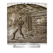 The Capture Of Booth, The Slayer Shower Curtain