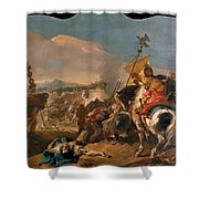 The Capture Of Carthage Shower Curtain