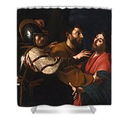 The Capture Of Christ Shower Curtain